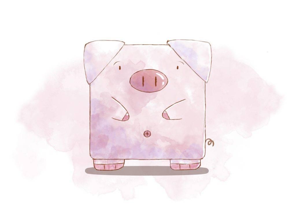 świnka z logo chrumcreo